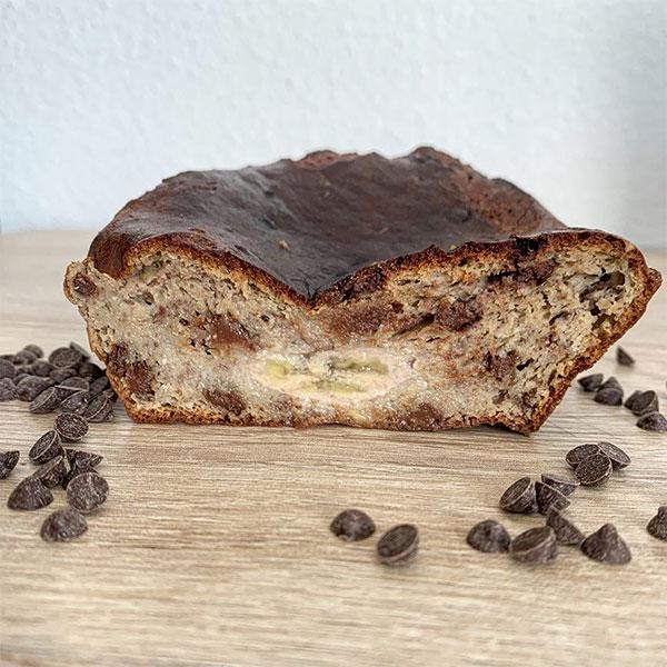Muffins banane amande protéinés